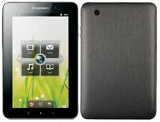 Skinomi Brushed Steel Tablet Body Skin+Screen Protector for Lenovo IdeaPad A1