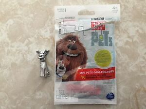Secret Life of Pets Series 1 Happy Max SILVER CHASE Blind Bag OPEN New