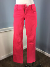 Lilly Pulitzer Coral Red Jeans 2 worth straight jeans Excellent