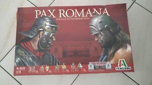 Italeri 6115 1/72  Pax Romana Wooden Military diorama figures and Villa 5In1