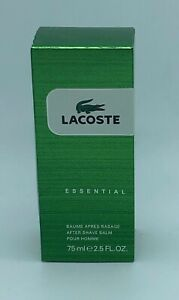 75ml Lacoste Essential Aftershave balm 2.5 oz