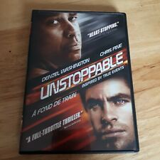 Unstoppable DVD English French Version Denzel Washington