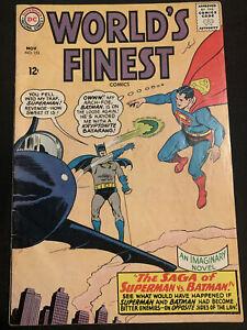Worlds Finest Comics #153 (DC, 11/65) Infamous Robin Slap Issue! Famous Meme!