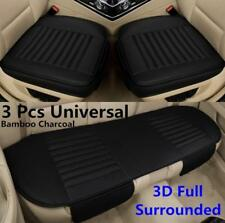 Full Surrounded PU Leather Car Seat Cover Bamboo Charcoal Pad For Car Chair Mat