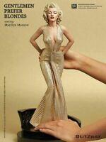"""New Marilyn Monroe Gentlemen Prefer Blondes 1/4 Scale PVC Statue Figure 16"""" Doll"""