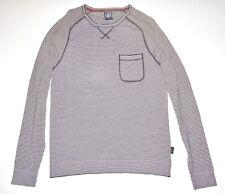 New Volcom Mens Standard Cotton Knit Pullover Pocket Sweater Medium
