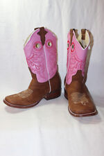 HECHO EN MEXICO MADE IN MEXICO WESTERN COWBOY BOOTS CHILDS SIZE 7 EURO 23 1/2