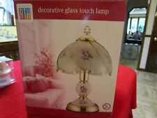 Round The House Glass Table Touch Lamp Brand New Decorative Glass Cool Look