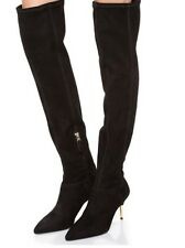 B Brian Atwood Mazzarine suede leather Over The Knee boots size 9