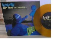 "Blink-182 They Came To Conquer Uranus DARK YELLOW VINYL 7"" Record! non lp! NEW!!"
