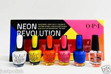 Opi Nail Polish Color Mini Neon Revolution 6ct/pk