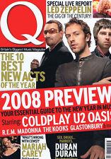 U2 / COLDPLAY / OASIS Q Magazine N0. 259 February 2008