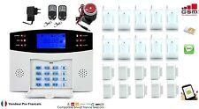 Kit Alarme de Maison téléphonique GSM SIM sans fil 10 zones evolutif -> 99 zone