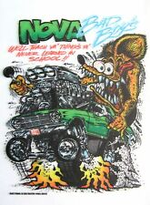 Rat Fink Chevy NOVA Decal Hot Rat Rod  Chevrolet Car  Street Race  Drag Strip g