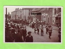 Funeral Military Band (A) Kneesworth Street Royston RP pc R H Clark Ref A883