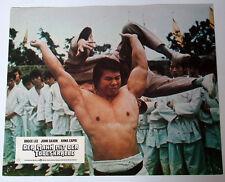Bruce Lee DER MANN MIT DER TODESKRALLE original Kino Aushangfoto # 3 EA 1974