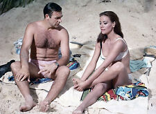 PHOTO OPERATION TONNERRE - SEAN CONNERY & CLAUDINE AUGER - 11X15 CM  # 1
