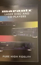 Marantz Laser CD Player 1995 CD-63SE  Advertising / Brochure *Original*