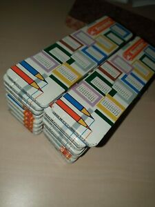 Vintage STABILO SWAN 12x Box of Colour Pencils 1960s