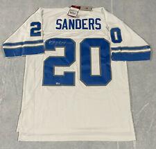 Detroit Lions Barry Sanders Signed Mitchell & Ness Jersey Fanatics Hologram