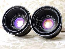 Jupiter-12 2.8/35 Soviet lens for rangefinder LZOS M39 mount Biogon copy