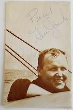 1967 GLENN YARBROUGH Souvenir Program CONCERT TOUR BOOK Signed