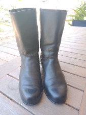 RM Williams leather riding boots Cuban heel