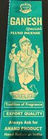 Ganesh Special Fluxo Incense 2 packs of 25 Grams