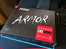 MSI ARMOR Radeon RX 580 8gb OC Graphics Card