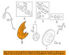 SUBARU OEM 2015 Legacy Rear Brake-Backing Plate Splash Dust Shield 26691AL01A