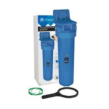 "20"" (inch) Big Blue Water Filter Housing Aquafilter FH20B1-WB"