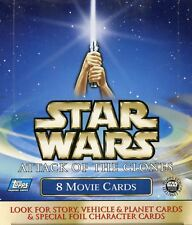 Star Wars Attack of the Clones Card Box
