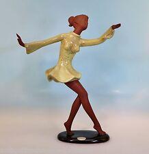 Goldscheider Wien Figur Terracotta Tänzerin Entwurf: Josef Lorenzl