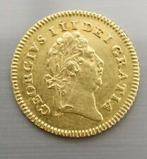 More details for george  iii 1803 gold 1/3 third guinea coin 2.8 grams