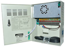 18 CH Port 12V/20A Uninterrupted Power Supply Distribution Box CCTV Camera