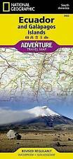 Ecuador and Galapagos Islands: Travel Maps International Adventure Map by National Geographic Maps (Sheet map, folded, 2011)