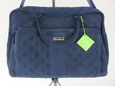 Vera Bradley Women's Navy Blue Weekender Fabric Shoulder Bag NWT $148