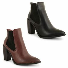 Dolcis Block Synthetic Leather Shoes for Women