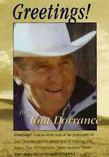 Tom Dorrance GREETINGS!  Horse training DVD
