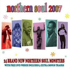 NORTHERN SOUL 2007 Various Artists NEW & SEALED CD + DVD SET (Centre City)