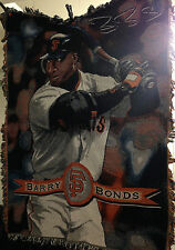 "MLB San Francisco Giants Barry Bonds Blanket 58"" x 40"" The North West Company"
