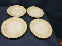 "Vintage Diplomat by Sango ""Jamestown"" Set/4 Soup/Salad Bowls BEAUTIFUL"
