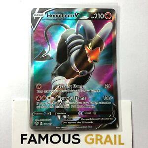 Houndoom V - 178/189 - Full Art Rare Card - Pokemon Darkness Ablaze MINT