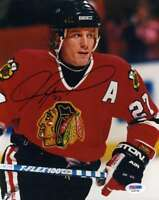 Jeremy Roenick Psa Dna Coa Autograph 8x10 Photo  Hand Signed Authentic