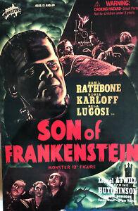 "Son of Frankenstein 12"" Figure Universal Studios Monsters Sideshow Toys"