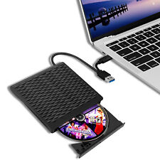 DVD Drive, External CD Drive with USB 3.0 Type C, Portable Optical USB C Burner