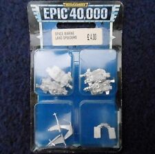 1997 Epic Imperial Space Marine Land Speeder Citadel 6mm 40K Warhammer Army MIB