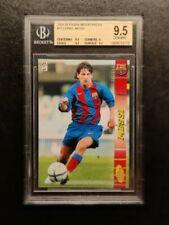 2004-05 Panini Megacracks #71 Lionel Messi Rookie RC BGS 9.5