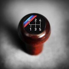 BMW Wood M-Technic DogLeg Shift Knob Push-On E23 E24 M535i E28 M635CSi E30 M3