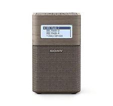 Sony Xdr-v1btd Portable Dab/dab Clock Radio With Bluetooth in Brown